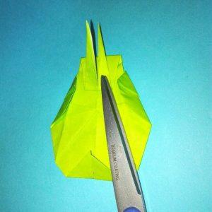 折り紙の折り方+コガネムシ 18