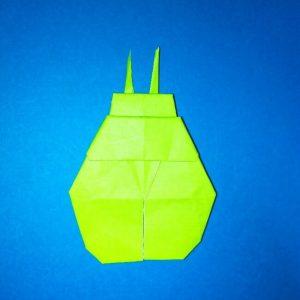 折り紙の折り方+コガネムシ 19