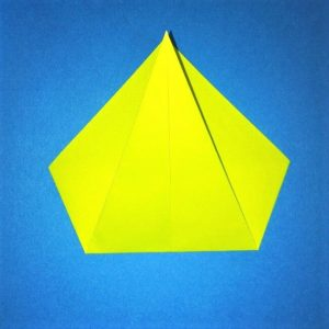 折り紙の折り方+コガネムシ 3