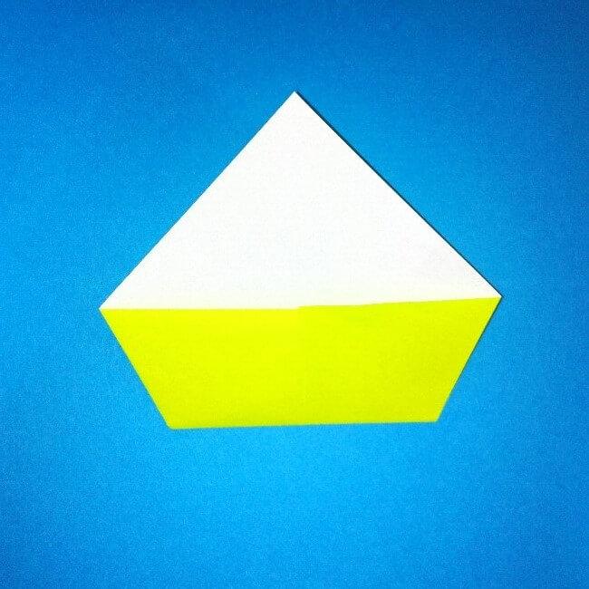 折り紙の折り方+コガネムシ 4