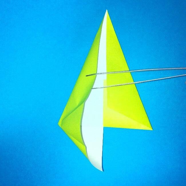 折り紙の折り方+コガネムシ 7-1