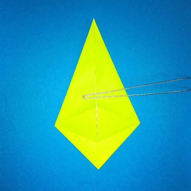 折り紙の折り方+コガネムシ 8