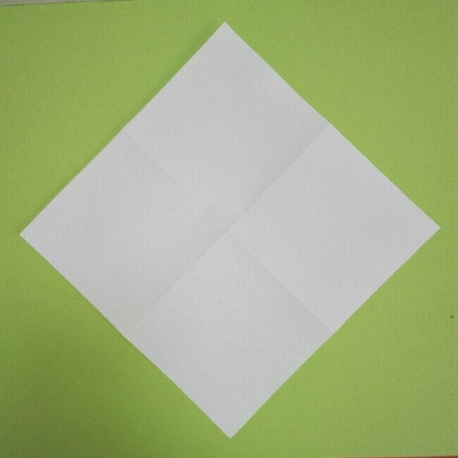 折り紙の折り方+ゴミ収集車(立体) 上1