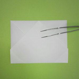 折り紙の折り方+ゴミ収集車(立体) 上3-1