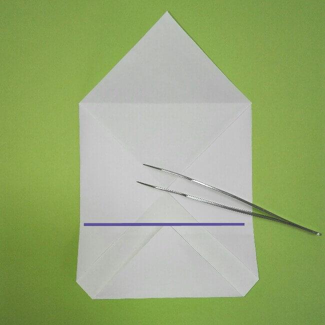 折り紙の折り方+ゴミ収集車(立体) 上4
