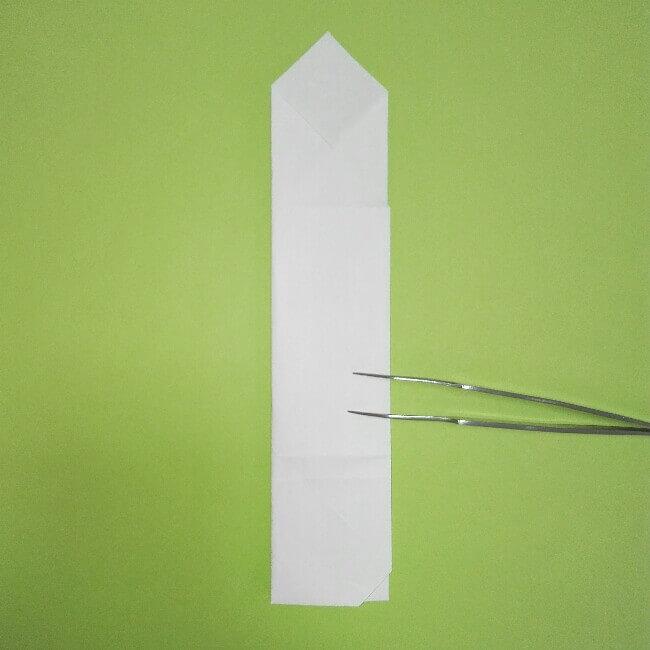 折り紙の折り方+ゴミ収集車(立体) 上5-2