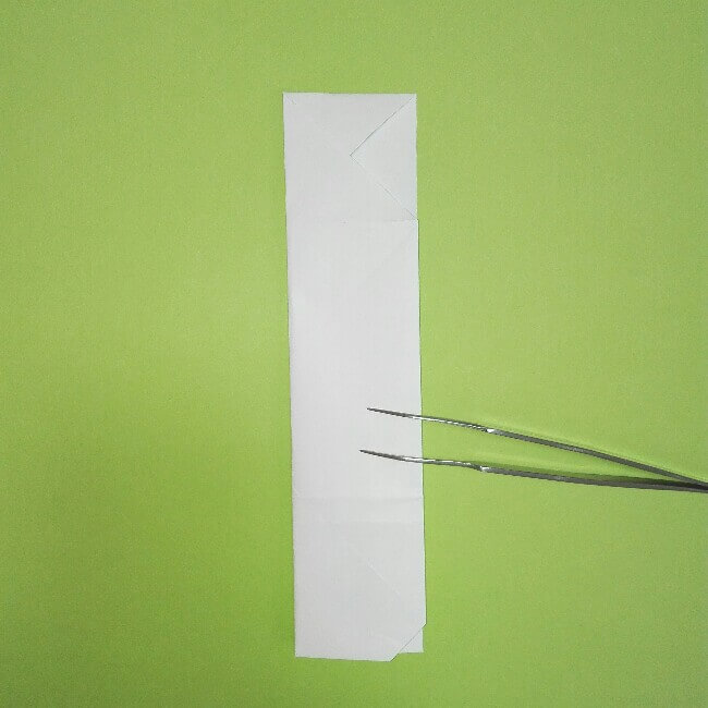 折り紙の折り方+ゴミ収集車(立体) 上6
