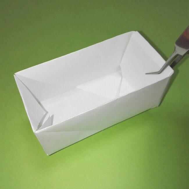折り紙の折り方+ゴミ収集車(立体) 上8