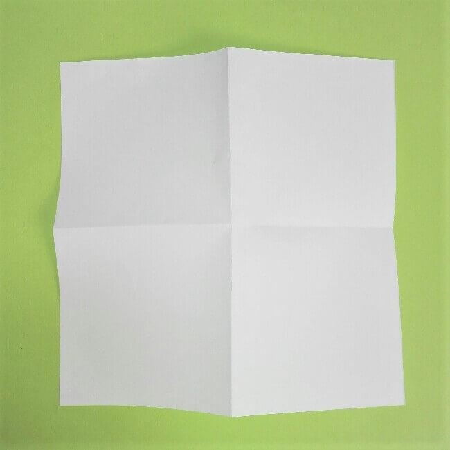折り紙の折り方+ゴミ収集車(立体) 下1
