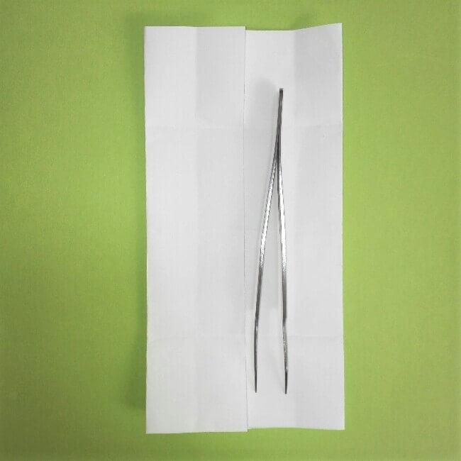折り紙の折り方+ゴミ収集車(立体) 下3-1