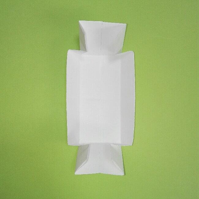 折り紙の折り方+ゴミ収集車(立体) 下4-2