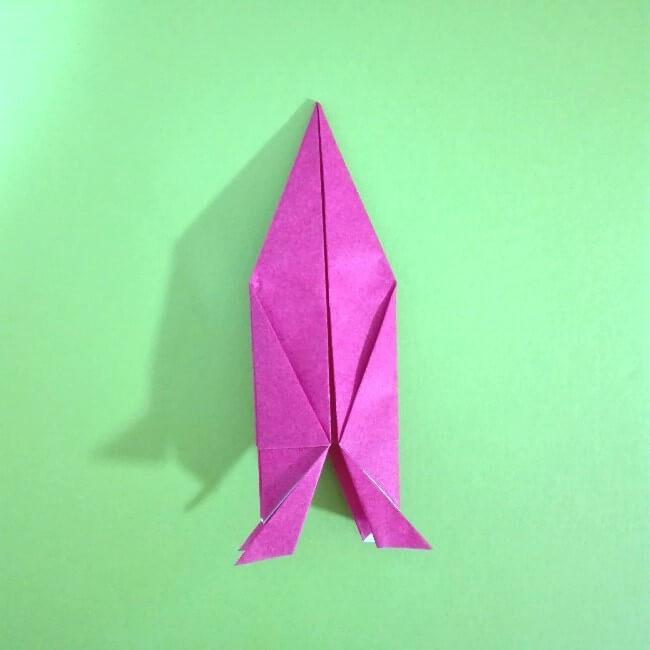 折り紙の折り方+ロケット10-2