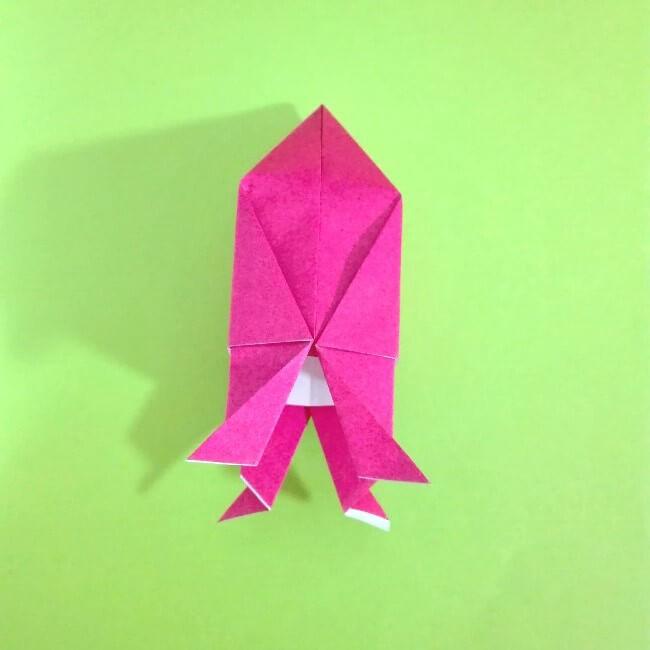 折り紙の折り方+ロケット11