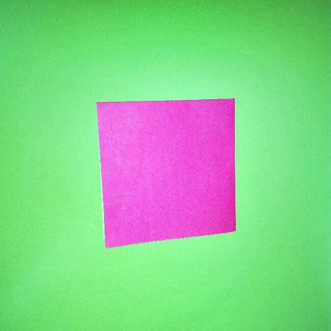 折り紙の折り方+ロケット3
