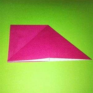 折り紙の折り方+ロケット4-2