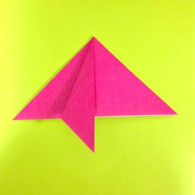 折り紙の折り方+ロケット6-1