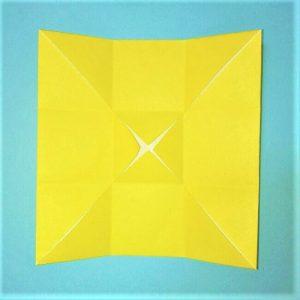 折り紙の折り方+立体ブルドーザー ブレード3-2