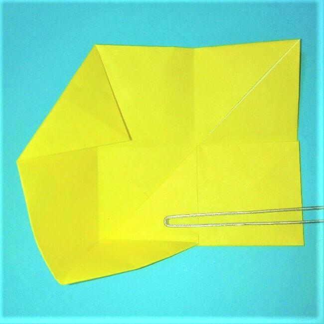 折り紙の折り方+立体ブルドーザー ブレード5-2