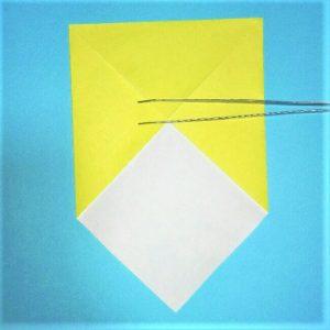 折り紙の折り方+立体ブルドーザー 内 (2)