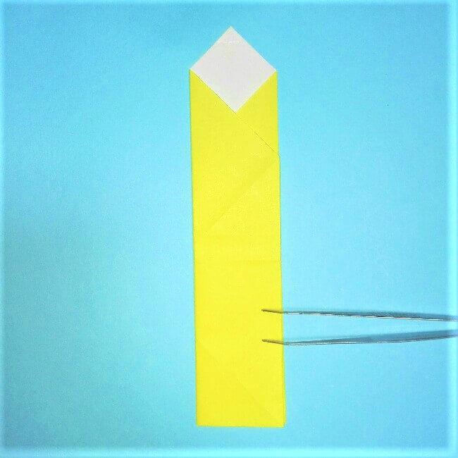 折り紙の折り方+立体ブルドーザー 内(5-2)