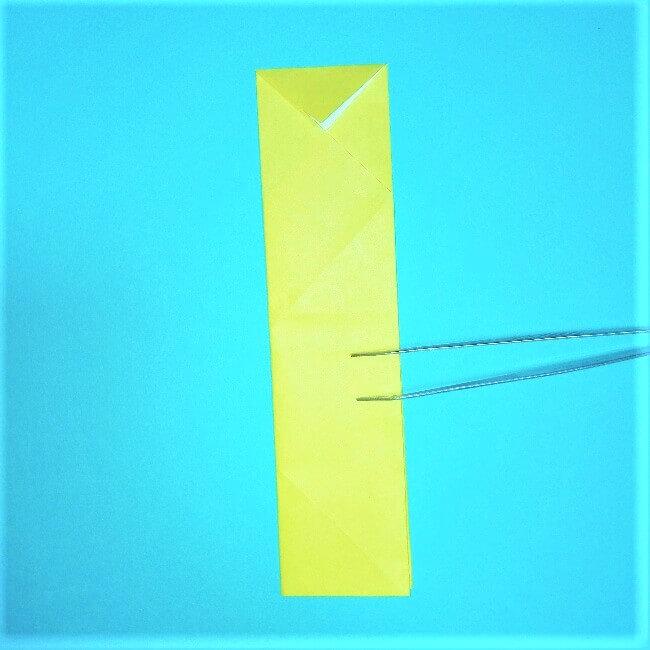 折り紙の折り方+立体ブルドーザー 内(6)