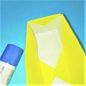 折り紙の折り方+立体ブルドーザー 内(7-2)