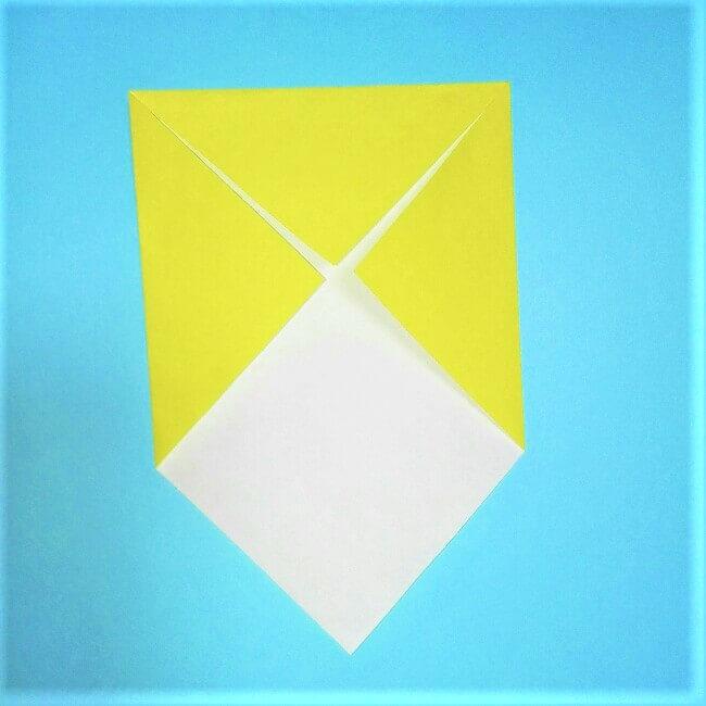 折り紙の折り方+立体ブルドーザー 外2
