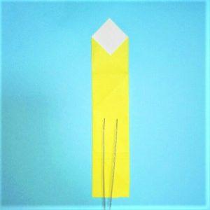 折り紙の折り方+立体ブルドーザー 外6-2
